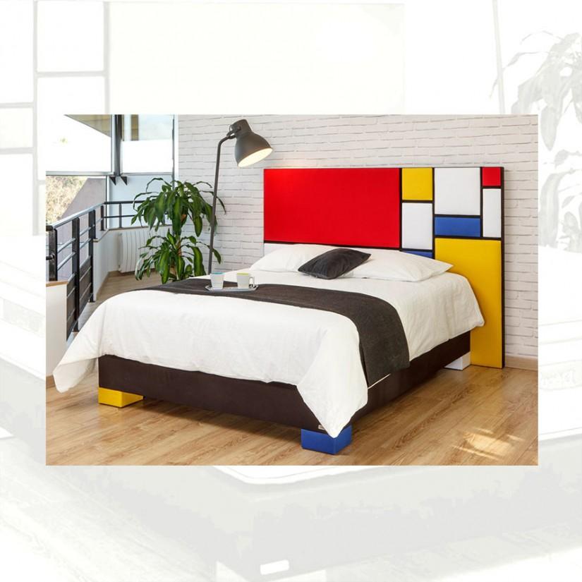 Tete De Lit Fabriquee En France Style Deco Multicolore Tinazo
